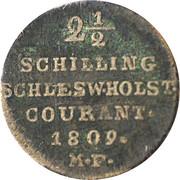 2½ Shilling, 1/24 Daler Specie - Frederik VI – reverse
