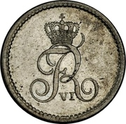 16 Reichsbank Schilling - Frederik VI – obverse
