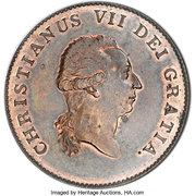 ⅓ Speciedaler - Christian VII – obverse
