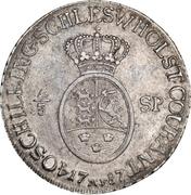 ⅔ Speciedaler - Christian VII. – reverse