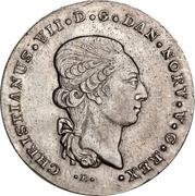 1 Speciedaler - Christian VII – obverse