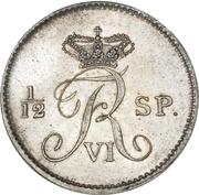 16 Reichsbank Schilling - Frederik VI. – obverse