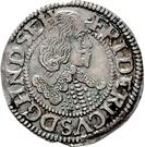 1/16 Thaler - Friedrich III – obverse