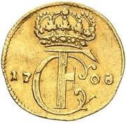3 Pfennig - Karl Friedrich (Gold Pattern) – obverse
