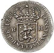 ¼ Ducat - Karl Friedrich (Silver Pattern) – reverse