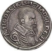 ½ Thaler - Johann Adolf – obverse
