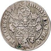 ¼ Thaler - Friedrich III. – reverse