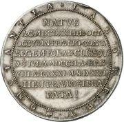1½ Thaler - Friedrich IV (Death) – reverse
