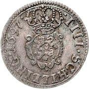 4 Schilling - Friedrich IV – reverse