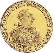 1 Ducat - Friedrich Karl – obverse