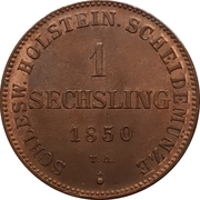 1 Sechsling (Provisional Government Coinage) – reverse
