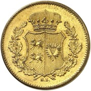 1 Sechsling (Provisional Government Coinage; Pattern) – obverse