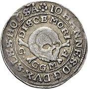 ¼ Thaler - Johann III. der Jüngere (Death) – obverse