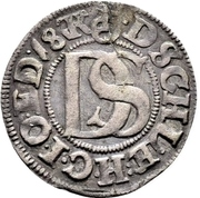 1 Doppelschilling - Johann der Jüngere – reverse