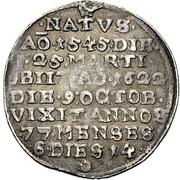 ¼ Thaler - Johann III. der Jüngere (Death) – reverse