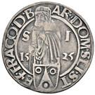 ½ Guldengroschen / Joachimsthaler - Louis I Jagellon – obverse