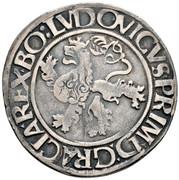 ½ Guldengroschen / Joachimsthaler - Louis I Jagellon – reverse