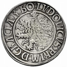 1 Guldengroschen / Joachimsthaler Louis I Jagellon – reverse
