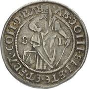 ¼ Guldengroschen/Joachimsthaler – obverse