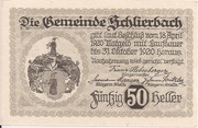 50 Heller (Schlierbach) -  reverse