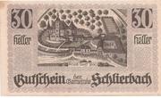 30 Heller (Schlierbach) -  obverse