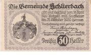 30 Heller (Schlierbach) -  reverse