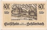 20 Heller (Schlierbach) -  obverse