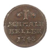 1 Heller - Friedrich I. – reverse