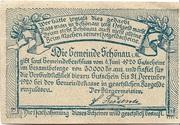 20 Heller (Schönau im Mühlkreis) – reverse