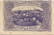 50 Heller (Schönau im Mühlkreis) – obverse
