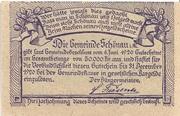 50 Heller (Schönau im Mühlkreis) – reverse