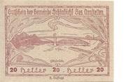 20 Heller (Schönbichl) -  obverse