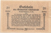 20 Heller (Schönbichl) – reverse