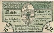 10 Heller (Schönbichl) – obverse