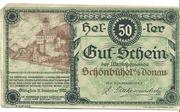 50 Heller (Schönbühel) – obverse