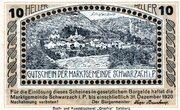 10 Heller (Schwarzach im Pongau) – reverse
