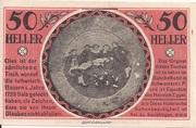 50 Heller (Schwarzach im Pongau) -  obverse