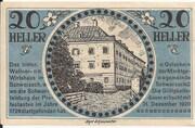20 Heller (Schwarzach im Pongau) – obverse