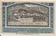 20 Heller (Schwarzach im Pongau) – reverse
