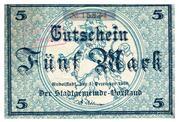 5 Mark (Rudolstadt) – obverse