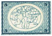 5 Mark (Rudolstadt) – reverse