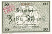 10 Mark (Rudolstadt) – obverse
