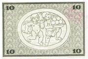 10 Mark (Rudolstadt) – reverse
