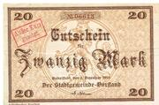 20 Mark (Rudolstadt) – obverse