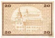 20 Mark (Rudolstadt) – reverse
