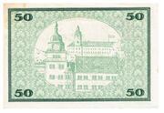 50 Mark (Rudolstadt) – reverse