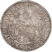 1 Thaler - Günther XLI. and Johann Günther – obverse
