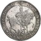 1 Thaler - Albert VIII., Günther XLII, Anton Heinrich, Johann Günther II. and Christian Günther I. – reverse
