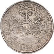 1 Thaler - Günther XLI. and Johann Günther – reverse