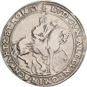 1 Thaler - Albert VIII., Günther XLII, Anton Heinrich, Johann Günther II. and Christian Günther I. -  reverse